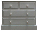Edwardian Style 2 over 2 chest of drawers