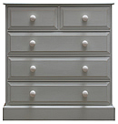 Edwardian Style 2 over 3 chest of drawers