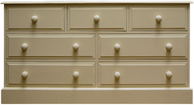 3 over 2 over 2 Chest of Drawers