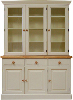 5ft Full Height Glazed Dresser