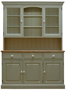 5ft Part Glazed Dresser