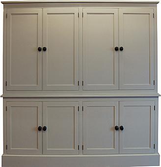 Eight Door Larder Cupboard