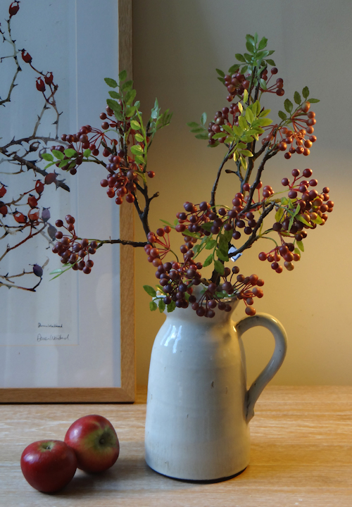 Berry Twig Faux Flowers