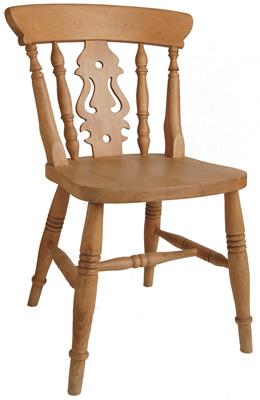 Fiddle Back Beech Chair