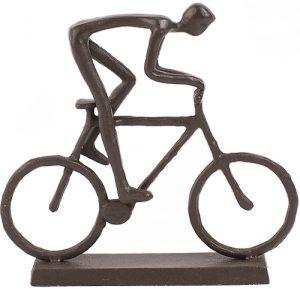 Cyclist Statuette