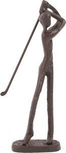 Golfer statuette