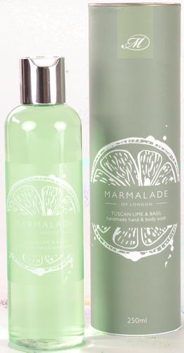 Marmalade Tuscan Lime and Basil Body Wash