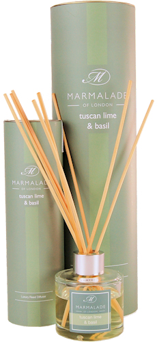 Marmalade Tuscan Lime and Basil Reed Diffuser