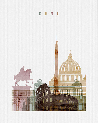 Rome City Poster