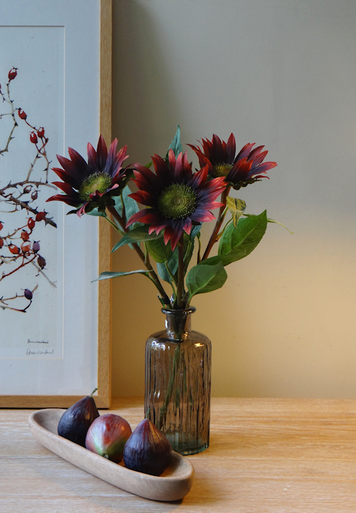 Russet Sunflower Faux Flowers