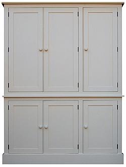 Six Door Larder Cupboard