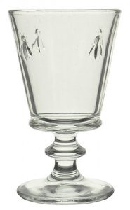 French Bee Wine Goblet