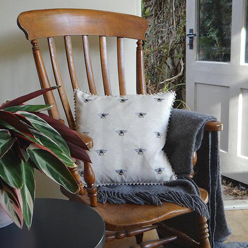 Natural Bee Cushion