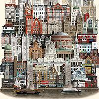 City Posters by Martin Schwartz