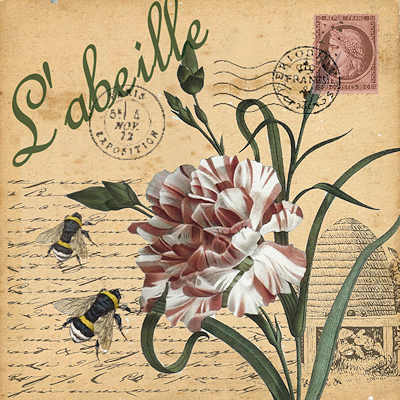 Flower & Bees by Bells of Suffolk
