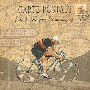 Retro Cyclist by Bells of Suffolk