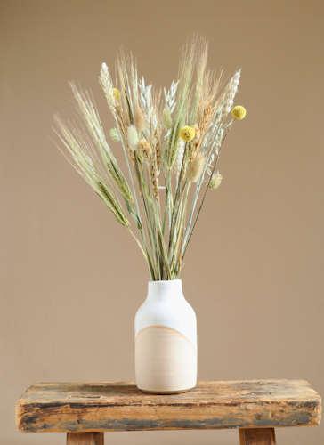 Harvest Moon Dried Flower Arrangement