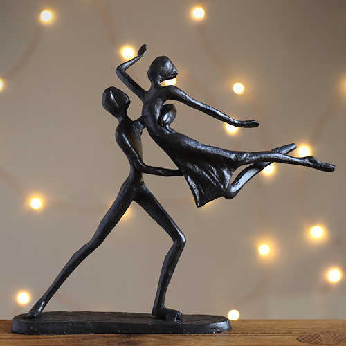 Couple Dance Lift Statuette