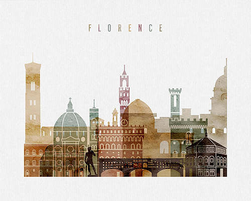 Florence City Poster