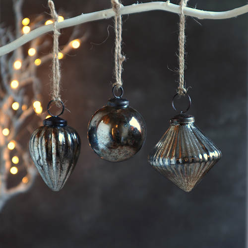 Antique Silver Baubles