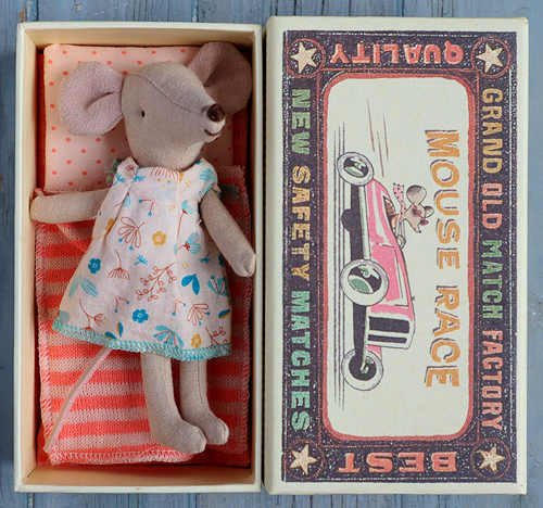 Maileg Big Sister in Matchbox