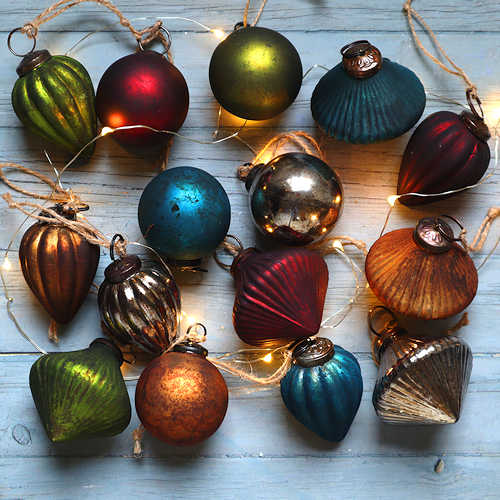 Vintage Style Baubles