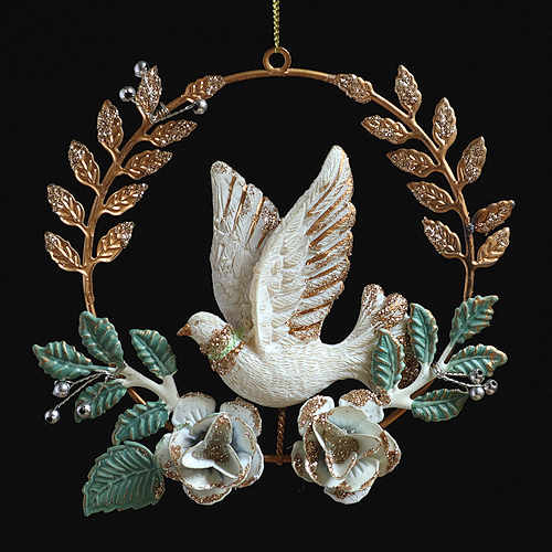 Dove of Hope Christmas Decoration