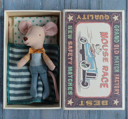 Maileg Little Brother in Matchbox