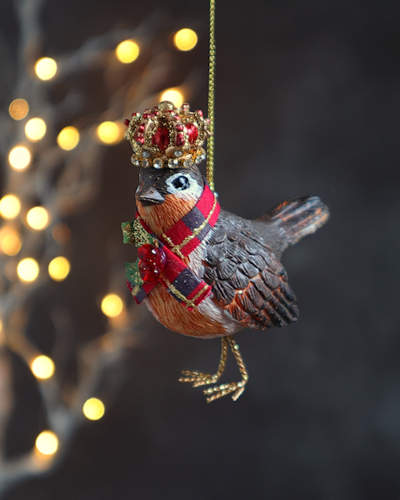 Royal Robin Chrstmas Decoration.