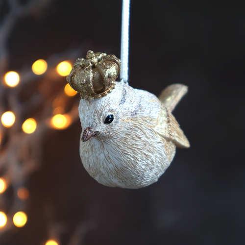 Royal Bird Christmas Decoration