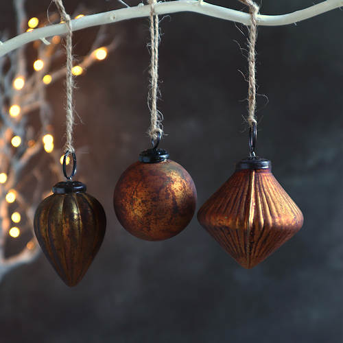 Old Gold Baubles