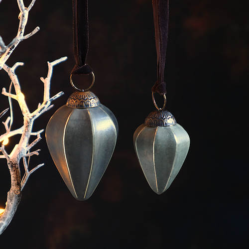 Slate Grey Clay Baubles