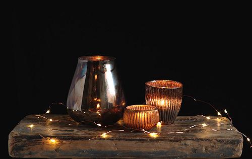 Golden Light Tealight Collection