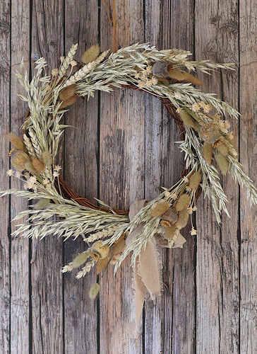 Misty Dried Flow Wreath
