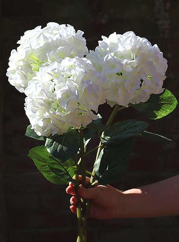 Hydrangeas Faux Flowers